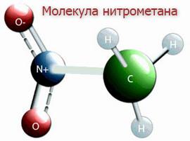 нитрометана молекула